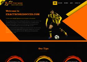 Exactscoresoccer.com thumbnail