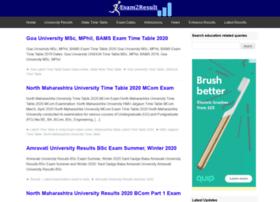 Exam2result.com thumbnail