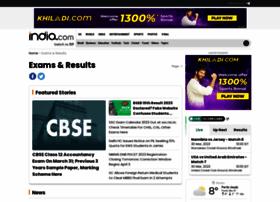 Examresults.india.com thumbnail