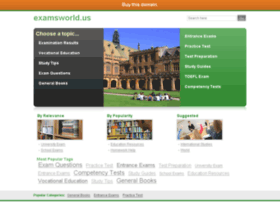 Examsworld.us thumbnail