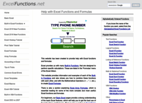 Excelfunctions.net thumbnail