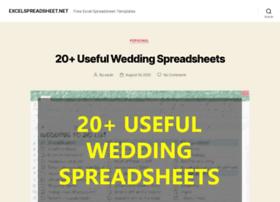 Excelspreadsheet.net thumbnail