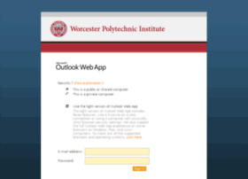 Exchange.wpi.edu thumbnail