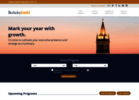 Executive.berkeley.edu thumbnail