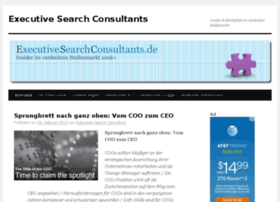 Executivesearchconsultants.de thumbnail