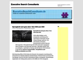 Executivesearchconsultants.de thumbnail