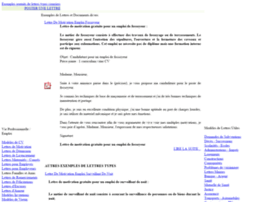 Exemples-lettres-types.com thumbnail