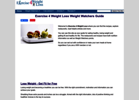 Exercise4weightloss.com thumbnail