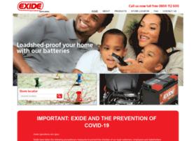 Exide.co.za thumbnail