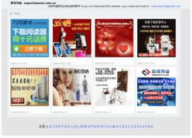 Expochannel.com.cn thumbnail