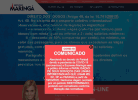 Expressomaringa.com.br thumbnail