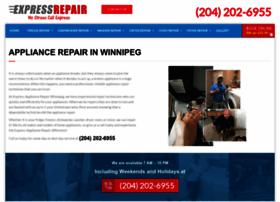 Expressrepairwinnipeg.ca thumbnail