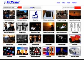 Exrx.net thumbnail