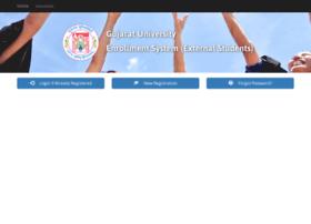 Extenroll.gujaratuniversity.ac.in thumbnail