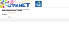 Extranet.cg65.fr thumbnail