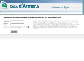 Extranet.cotesdarmor.fr thumbnail