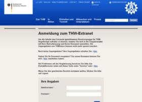 Extranet.thw.de thumbnail