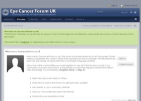 Eyecancerforum.co.uk thumbnail