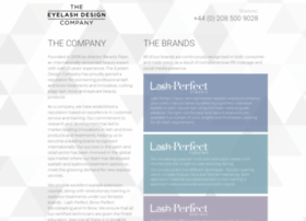 Eyelashdesign-company.co.uk thumbnail