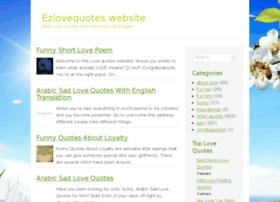 Ezlovequotes.website thumbnail