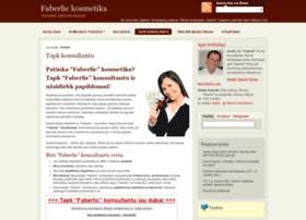 Faberlic-kosmetika.lt thumbnail