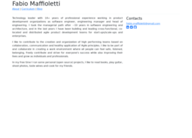 Fabiomaffioletti.me thumbnail