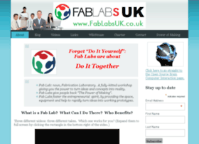 Fablabsuk.co.uk thumbnail