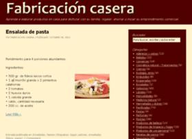Fabricacioncasera.com thumbnail