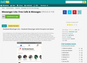 Facebook-messenger-lite.soft112.com thumbnail