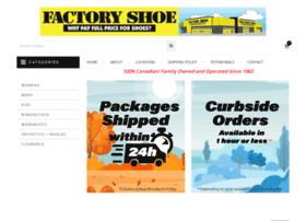 Factoryshoe.ca thumbnail