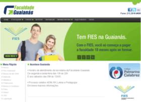 Faculdadeguaianas.com.br thumbnail