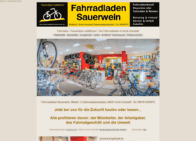 Fahrradladen-sauerwein.de thumbnail