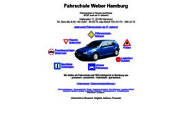 Fahrschule-weber-hamburg.de thumbnail