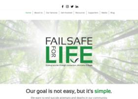 Failsafeforlife.org thumbnail