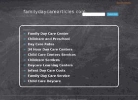 Familydaycarearticles.com thumbnail
