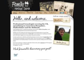 Familyheritagesearch.co.uk thumbnail
