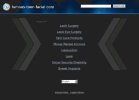 Famous-toon-facial.com thumbnail
