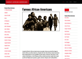 Famousafricanamericans.org thumbnail
