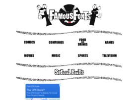 Famousfonts.org thumbnail