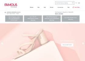 Famousfootwear.com thumbnail