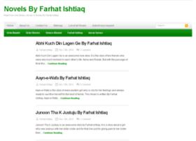 Farhatishtiaq.urdunovels.org thumbnail