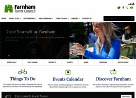 Farnham.gov.uk thumbnail