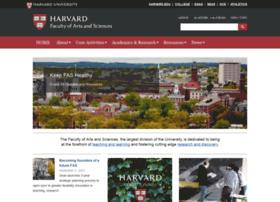 Fas.harvard.edu thumbnail