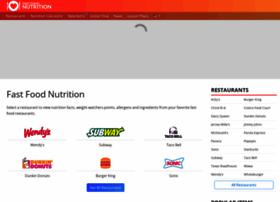 Fastfoodnutrition.org thumbnail