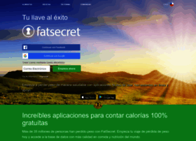 Fatsecret.cl thumbnail