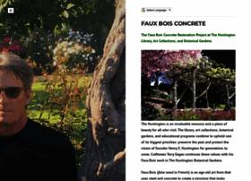 Fauxboisconcrete.info thumbnail