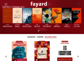 Fayard.fr thumbnail
