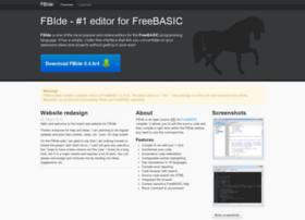 Fbide.freebasic.net thumbnail
