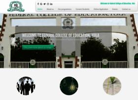 Fceyoladegree.edu.ng thumbnail