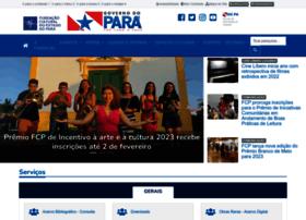 Fcp.pa.gov.br thumbnail